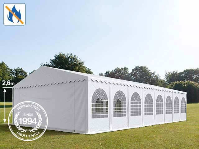 Brandvertragende PVC partytent.