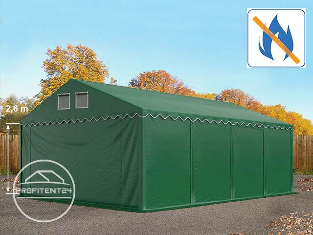 Opslagtent Everest Prime Plus met brandvertragend gecertificeerd PVC-zeil