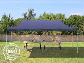 3x6 m Easy Up partytent, donkerblauw