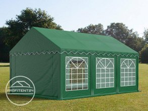 Partytent 3x6 m, PVC 500 g/m², donkergroen