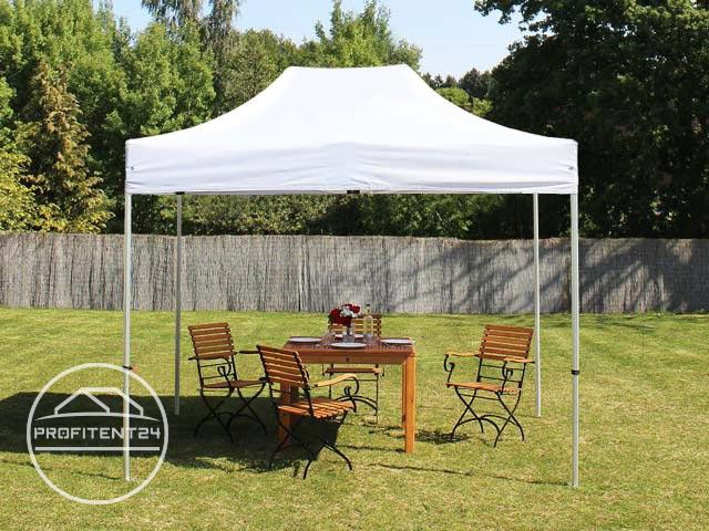 3x2 m Easy Up partytent, PREMIUM, wit