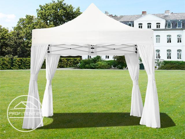 3x3 m Easy Up partytent, PREMIUM, wit